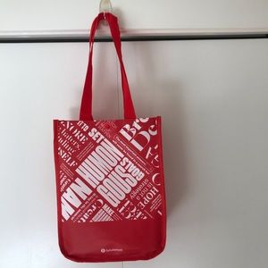 Free w/ purchase of $100+ Lululemon bag